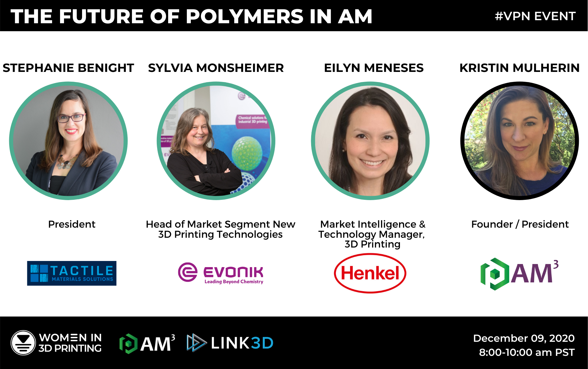 Future of Polymers AM Event Poster